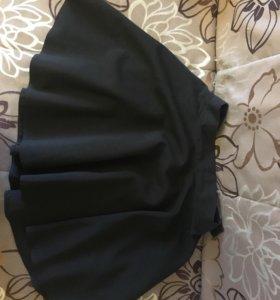Школьная юбка с карманами