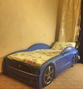 Машинка кровать