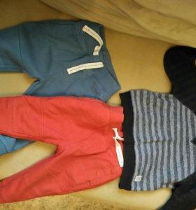 Утепленные штанишки и свитера