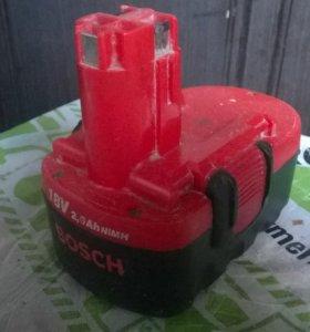 Аккумулятор Bosch 1,8V