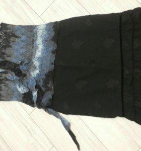 Комплект юбка + блузка р. 48 50