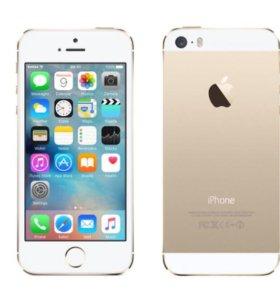 iPhone 5S 32 Гб, золотой