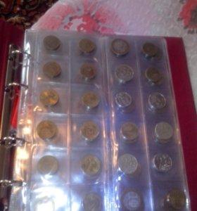 Кляссер с монетами