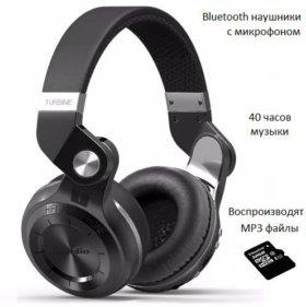 Bluedio T2+ Bluetooth наушники гарнитура MP3 плеер