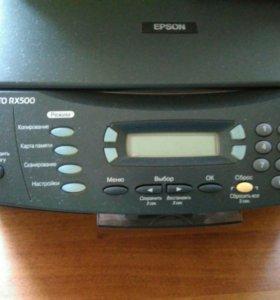 Принтер Epson RX500