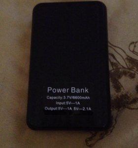 Power Bank на 6600mAh