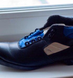 Лыжные ботинки, размер 42, новые