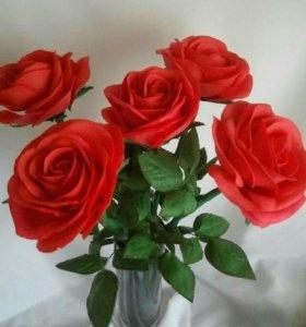 Розы ручной работы в наличии