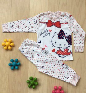 Пижама для девочки на 1 год