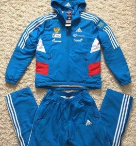 Костюмы Adidas новые зимние (тепляк),все размеры