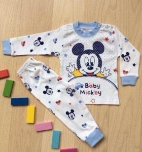 Пижама для мальчика  на 1 год