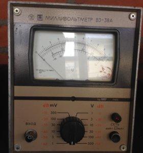 Милливольтметр В3-38А