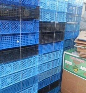 Ящики пластик обмен для сада разные