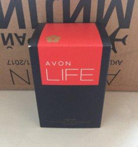 Парфюмерная вода от Avon Life мужская и женская