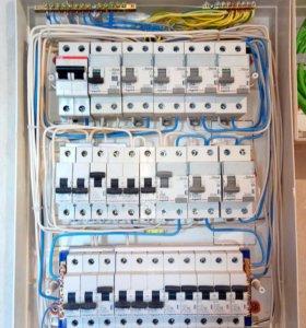 Электромонтаж,услуги электрика