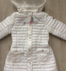 Пальто для девочки. Новое