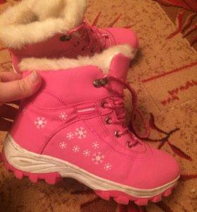 Зимние тёплые кроссовки
