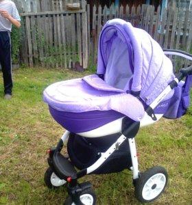 Детская коляска Adamex Pajero Alu 2в1