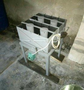 Станок для производства строительных блоков
