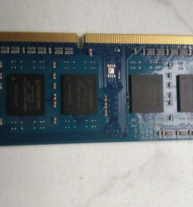 оперативная память для ноутбуков 4гб
