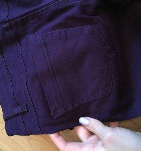 Очень красивые фиолетовые джинсы