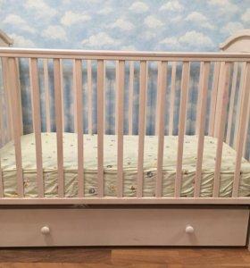 Детская кроватка Fiorellino