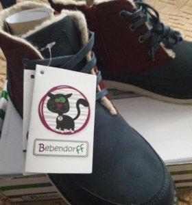 Детские ботинки(новые)