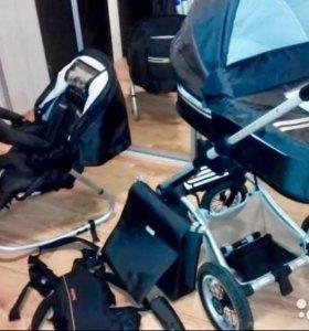 детская коляска Mutsy 3 в 1