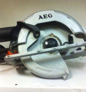 Циркулярка AEG KS 66 C