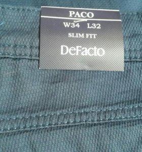 Новые мужские джинсы DeFacto