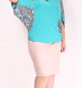 Блуза, размер 58