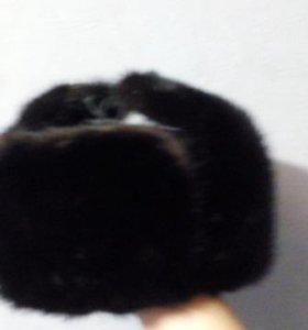 Норковая шапка. Размер 57