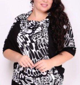 Блуза, размер 56