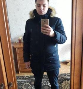 Зимняя мужская куртка(Совершенно новая)