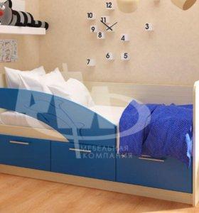 Детская кровать delphin с матрасом