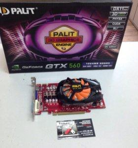 Видеокарта Gtx560-1gb