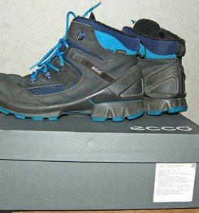 Зимние ботинки ECCO. Маркировка 38. GORE-TEX