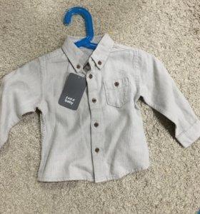 Zara рубашка новая