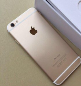 IPhone 6 16 gold .