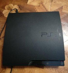 Sony Playstation 3 slim+геймпады+камера+move