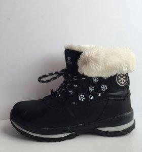 Ботинки для девочек (34 размер)