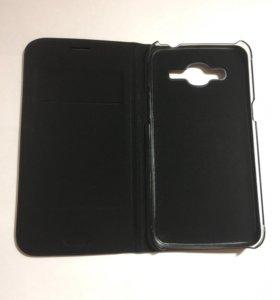 Чехол кожаный для Samsung J2