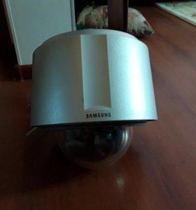 Уличная купольная видеокамера Samsung (комплект)
