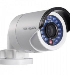 Уличная, метал. IP видеокамера HikvisionDS-2CD2022