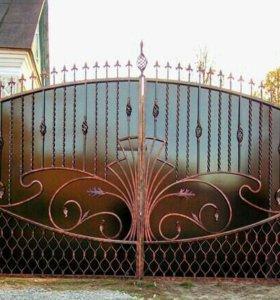 Ворота ковка.