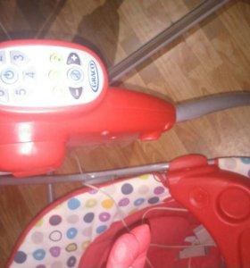 Качели детские электронные