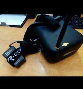 "Шлем 4.3"" Eachine VR-007 Pro-FPV 480×272 40CH"
