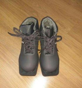Лыжные ботинки. Новые.