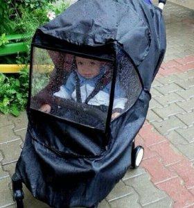 Мультиразмерный дождевик для детских колясок