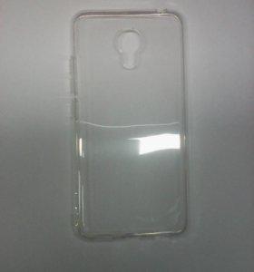 Чехол-силикон Meizu M3s/M3 mini/Meilan 3 белый